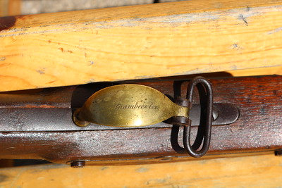 1506 (Chambers Cox engraved on trigger guard, 21st Indiana Volunteer Infantry, conv. to 1st Indiana Heavy Artillery, 2 screws on trigger plate)