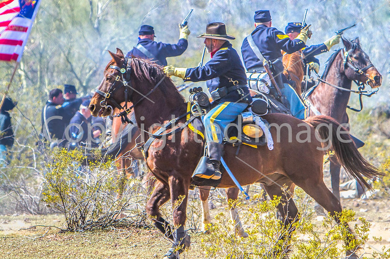 Picacho Peak, Arizona - 2012 - 150th Anniversary Reenactment