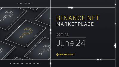 Binance NFT (anúncio lançamento)