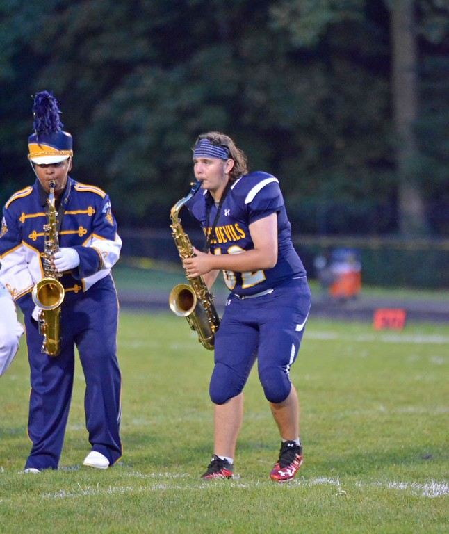 . Paul DiCicco - The News-Herald Action from Wickliffe\'s 28-24 win against Fairview Aug. 31.