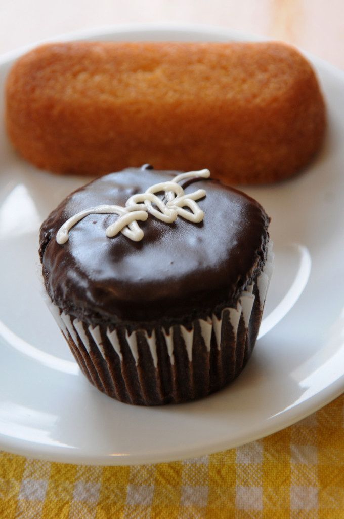 . A Twin-key and cupcake are the Buttered Tin\'s version of classic Hostess snacks. (Pioneer Press: Jean Pieri)