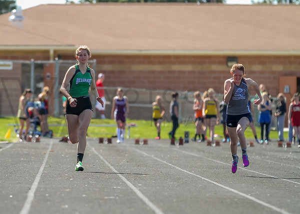2016 Msla Inv - 100m dash - girls