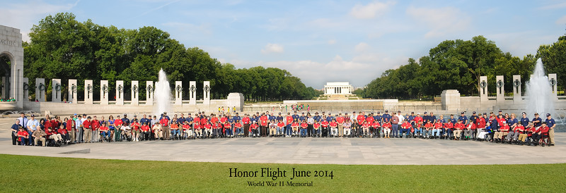 Honor Flight #3 (June2014)