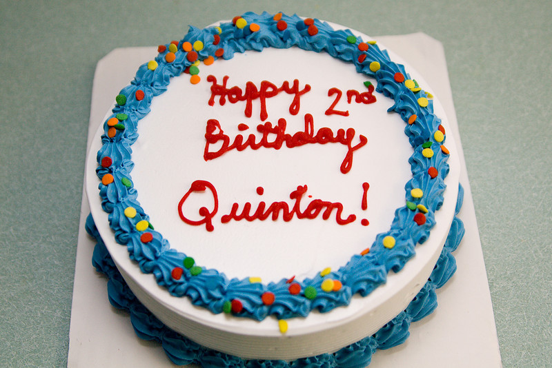 Quinton's cake