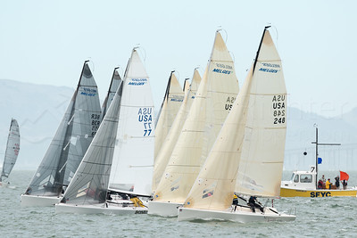 Melges 20s and 24s