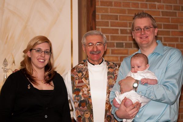 Baptism - 3 months old