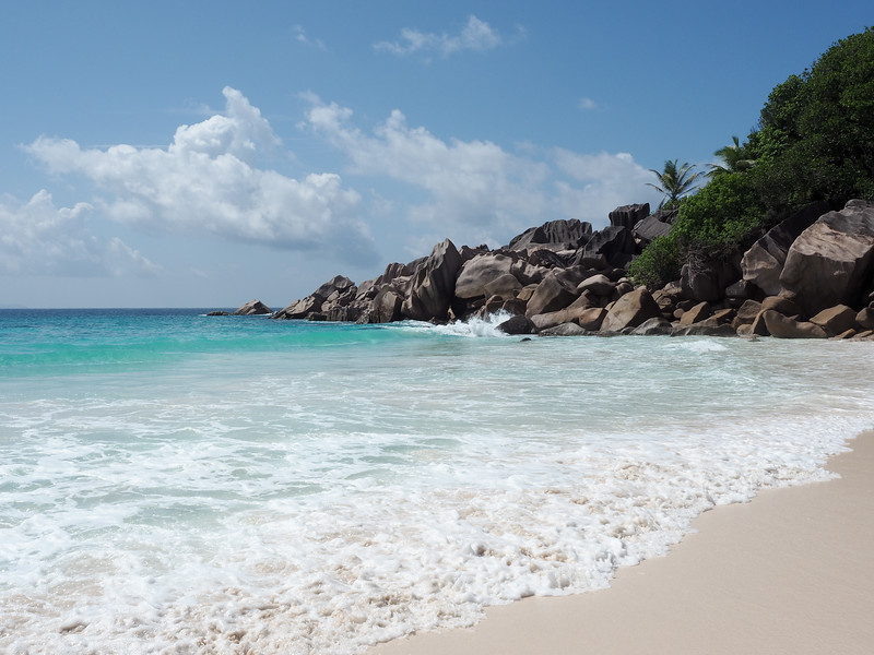 Petite Anse on La Digue