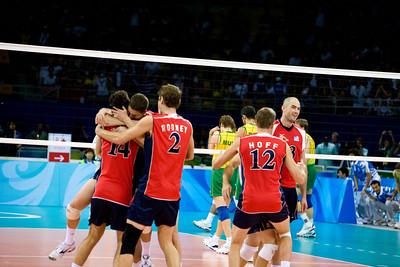 Men's Volleyball Gold Medal Award