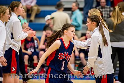 Basketball ST GSHS vs Bonneville 2-26-2014