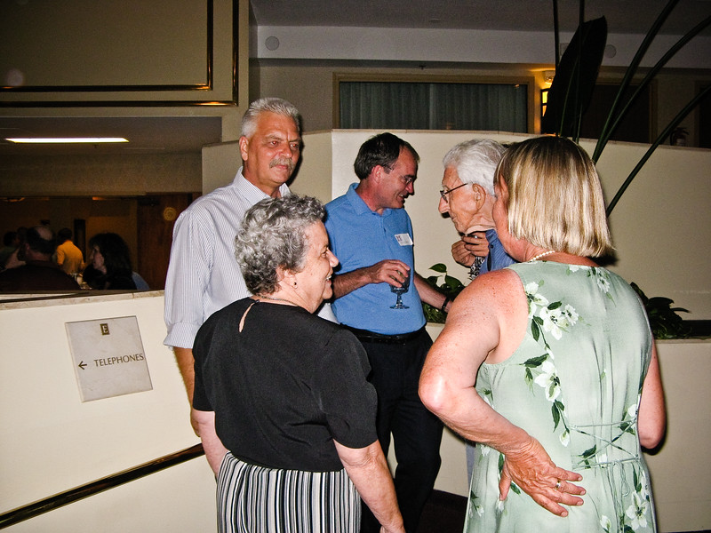 Kevin Mohler, Mike Culhane, Father Goeller, Pam Mohler