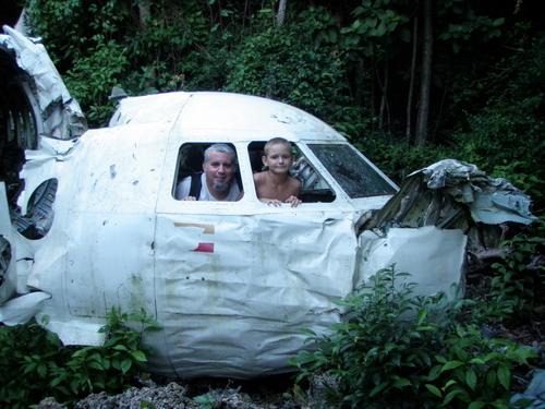 career break travel adventures in Honduras, 1 dad 1 kid