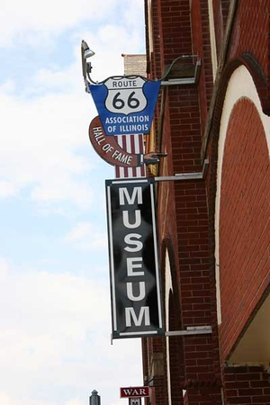Route 66 Hall of Fame and Museum in Pontiac