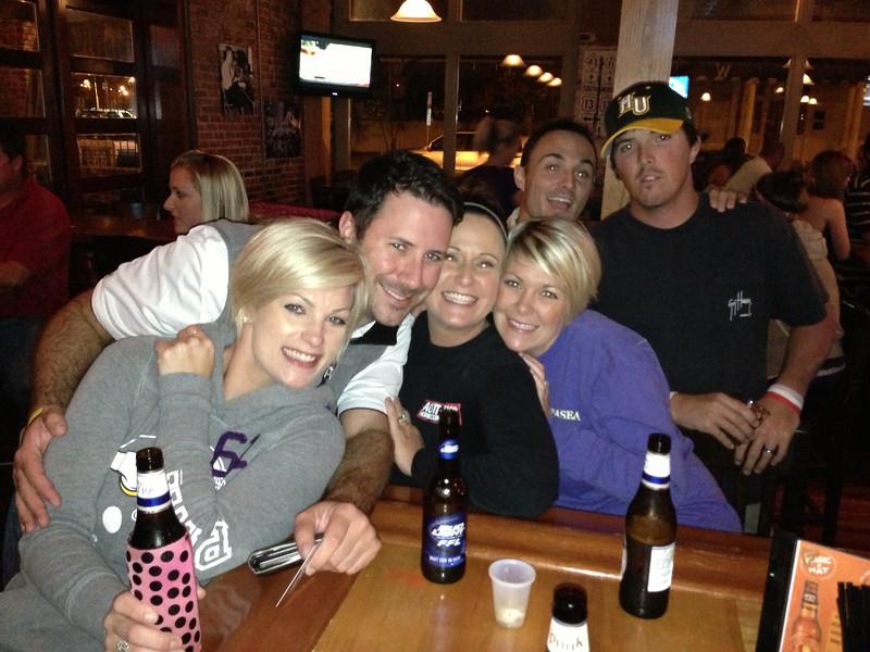 10/27 ECU vs Navy Lindsay, Preston, Lindsey, Natalie, Chris, Aaron