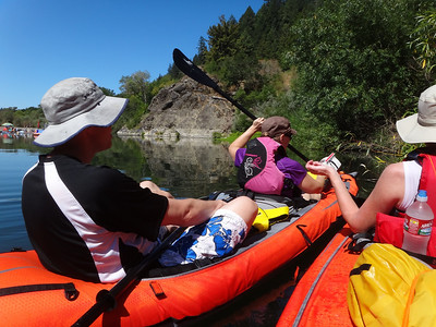 Kayaking Russian River