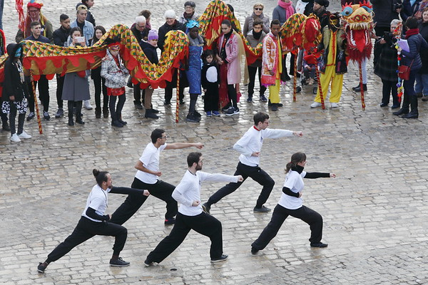 Carnaval chinois - Orléans - Année du Coq