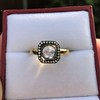 .53ctw Rose Cut Halo Ring, by Single Stone 23