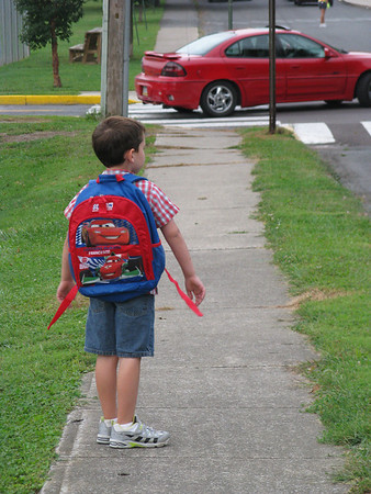 2011 Christopher starts school