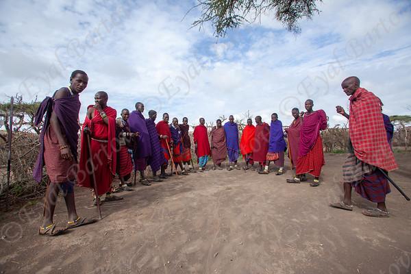 Maasai people - שבט המסאי