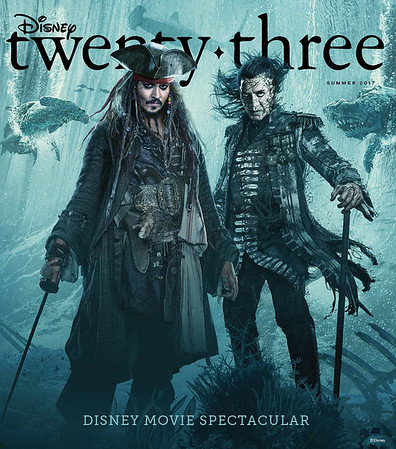 Disney 'twenty-three' magazine Summer 2017 explores Pandora, Fantasmic!, and more