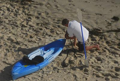 kayaking with dolphins, Laguna Beach