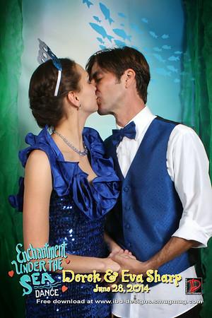 Derek and Eva Sharp 6-28-14
