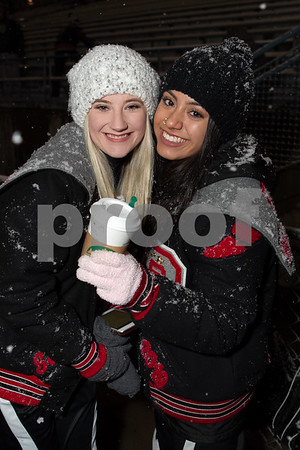 Poms Snow game