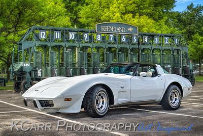 Thoroughbred Car Show - Keeneland 2015