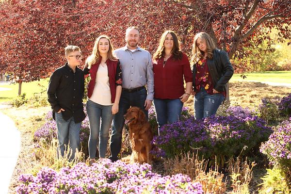 Carli and Kevin Spradlin Family 2018