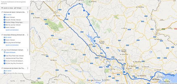 Le Nord ( Vu Linh, Pan Hou, Bac Ha) 8 au 13 mars