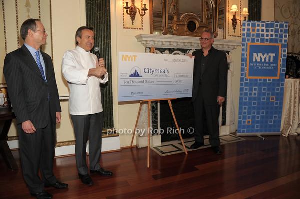 Leonard Aubrey, Daniel Boulud, Robert Rizzuto photo by Rob Rich/SocietyAllure.com © 2014 robwayne1@aol.com 516-676-3939