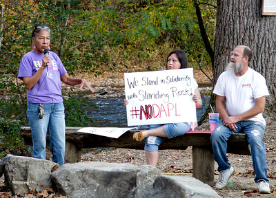 #NoDAPL Rally in Cherokee, November 3