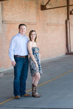 Chris & Jessica Engagement <br> Galveson, Texas