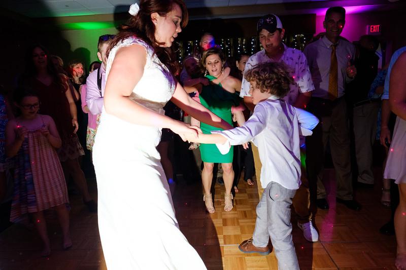 Amber & Jordan's Backayrd Wedding