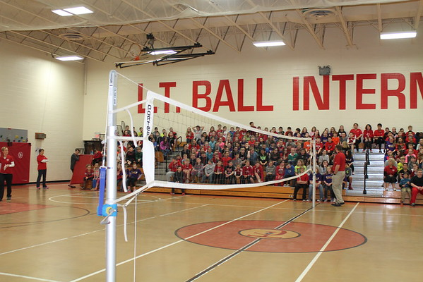 Relay Volleyball Students v. Teachers