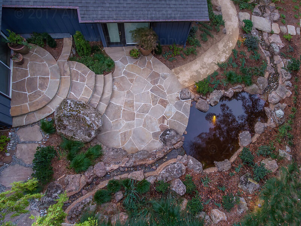 Aerial Landscape Photography, Woodside California