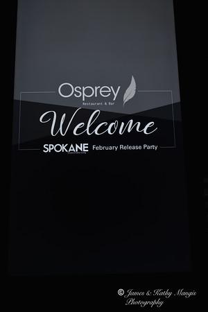 February Magazine Release Party - Osprey Restaurant