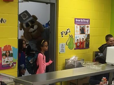 03-13-2015 Spike visits Purple Sage Elementary