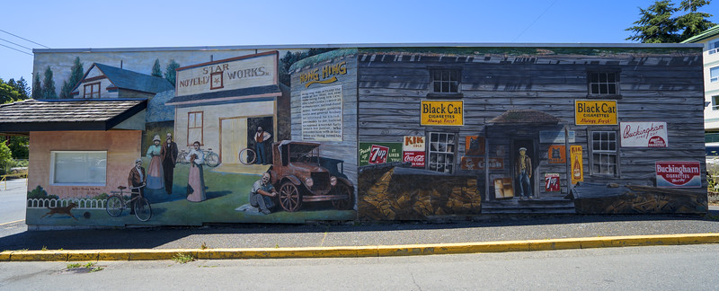 Chemainus, BC - World Famous Murals