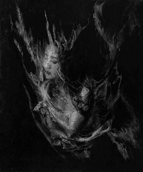 """""""Dream Butterfly-memory"""" (oil on linen) by Haoran Chang"""