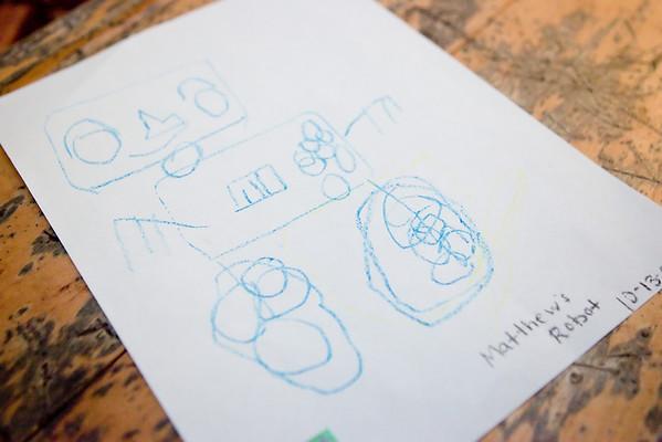 20090909 - Matthew's Art