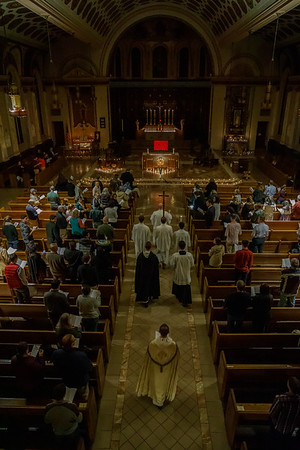 2018 All Saints Vigil (St. Mary's, New Haven)