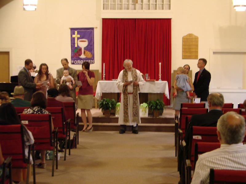 Park Street Christian Church Infant Dedication 2009 July 008.jpg