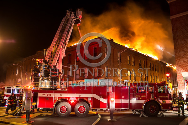 Leominster MA - 5+Alarms on Main St