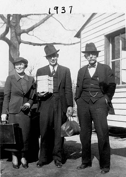 Florence, Jimmy, Walter James Duke 1937