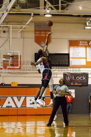 Edgewater Eagles @ Boone Braves Boys Varsity Basketball - 2018