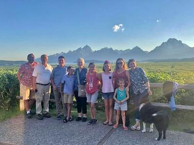 Grand Tetons / Yellowstone Family Adventure 2018 July