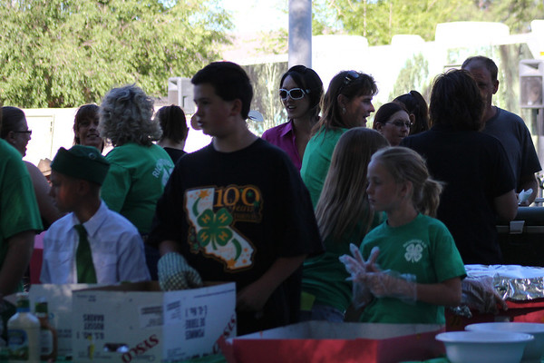 Lassen County 4H Barbecue at the Fair