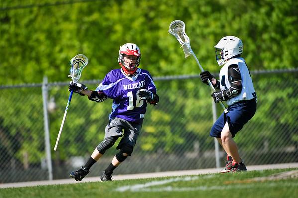 U-13 Jr Mustang Lacrosse vs Eureka 5/7/16