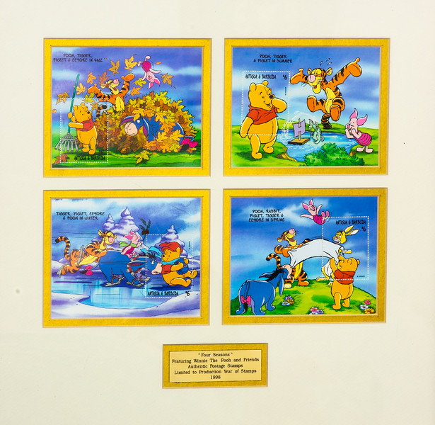 Winnie The Pooh Stamps