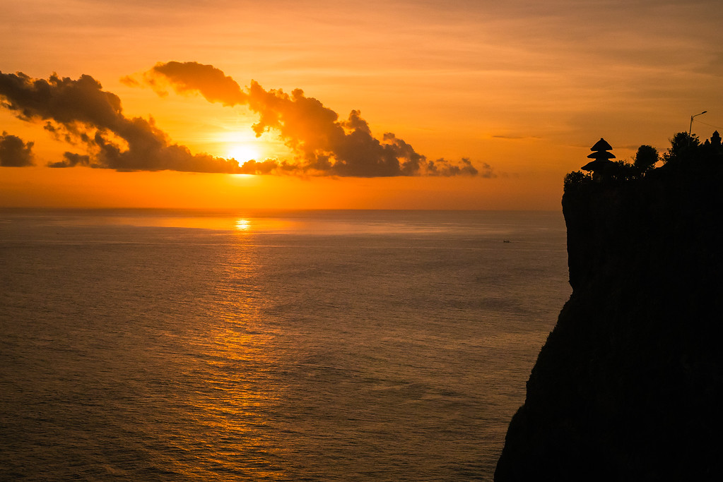 Sunset at Uluwatu